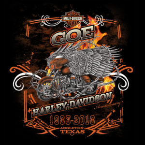 GOE Harley-Davidson Anniversary